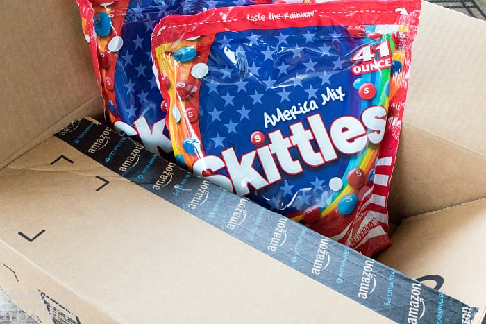 Patriotic Skittles Fudge from This Silly Girls Kitchen-2