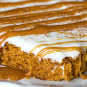 Caramel Pumpkin Sheet Cake from This Silly Girl's Kitchen-8f