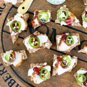 Sweet and Spicy Chicken Canapes from This Silly Girl's Kitchen-feature