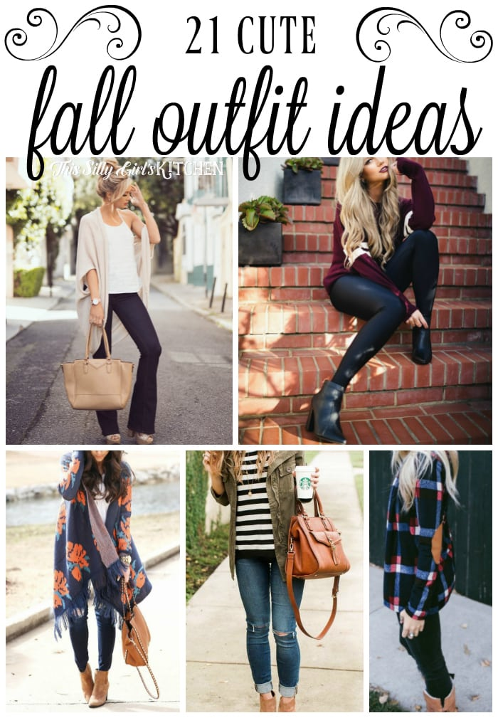 21 Cute Fall Outfit Ideas, super cute outfit inspiration photos for fall!