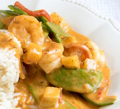 30 Minute Shrimp Coconut Curry