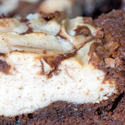 Pumpkin Spice Latte Cheesecake Brownies
