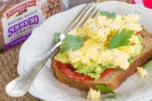 Scrambled Egg Avocado Toast