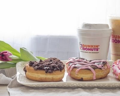 Valentine's Day with Dunkin' Donuts
