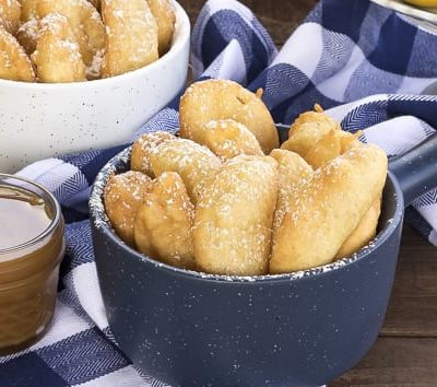 Funnel Cake Apple Fries