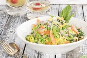 Zucchini Noodle Primavera