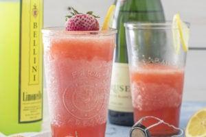 Strawberry Limoncello Slush