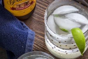 Sweet London Mule Cocktail