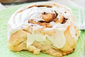 Pumpkin Crunch Cinnamon Rolls