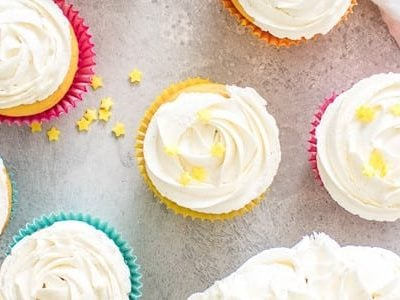 The Best Fluffy Buttercream Frosting