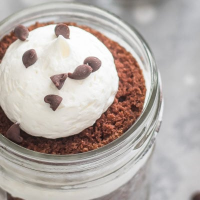 Dr Pepper Mason Jar Cupcakes