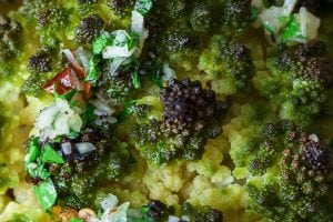 Whole Roasted Romanesco Cauliflower (30 minutes!)