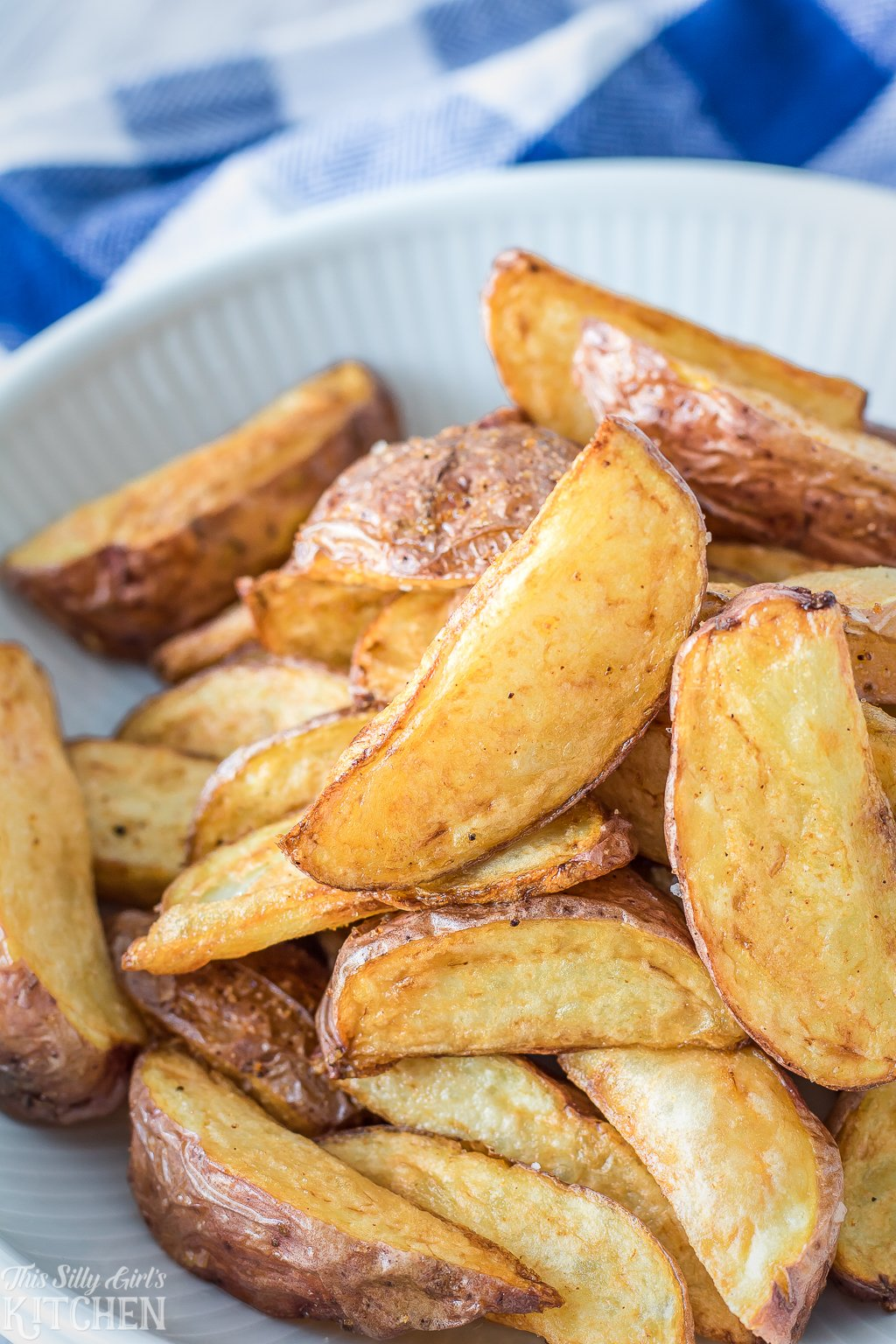 Fried Red Potato Wedges How To Fry Potatoes In Under 15