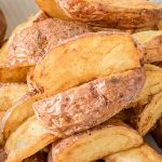 Fried Red Potato Wedges - How to Fry Potatoes in Under 15 ... Fried Potato Wedges Calorie