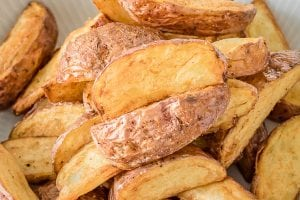 Fried Red Potato Wedges Recipe