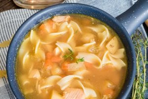 Rotisserie Chicken Noodle Soup (30 minutes!)