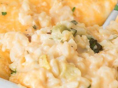 Zucchini Rice Casserole (Small Batch Recipe)