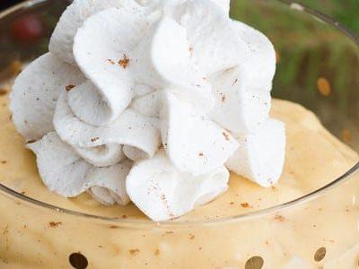 Eggnog Pudding