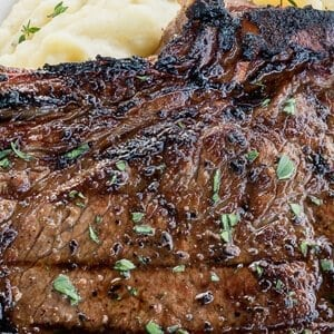 BEST Steak Marinade for Grilled Ribeye Steaks