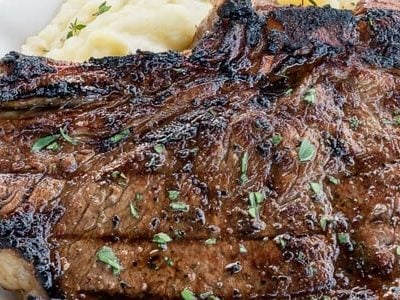 BEST Steak Marinade for Grilled Ribeye Steaks