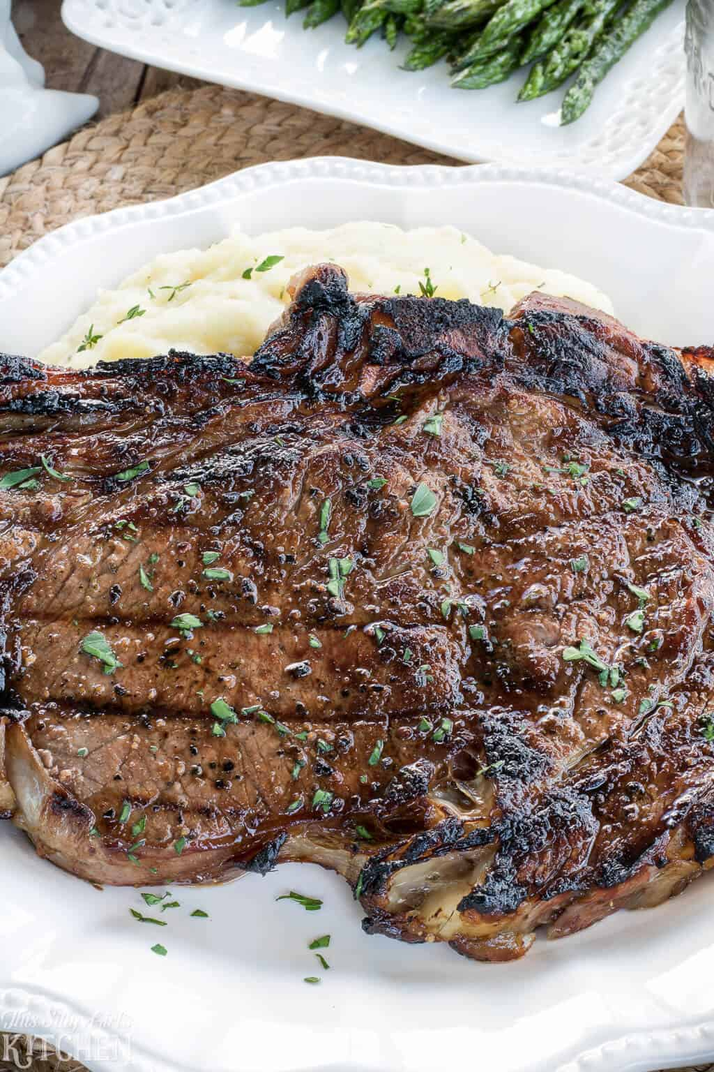 The Best Steak Marinade For Grilled Ribeye Steaks