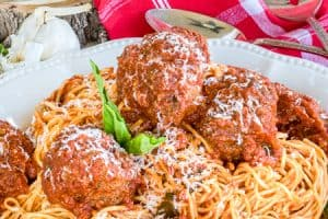 The Best Spaghetti and Meatballs Recipe (Stovetop and Oven Directions)