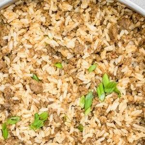 Sausage Dirty Rice Recipe