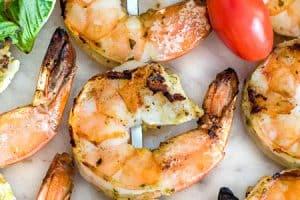 Bruschetta Grilled Shrimp
