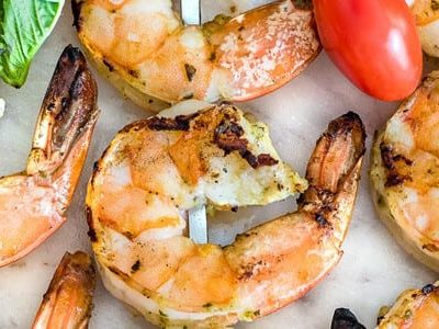 Bruschetta Grilled Shrimp