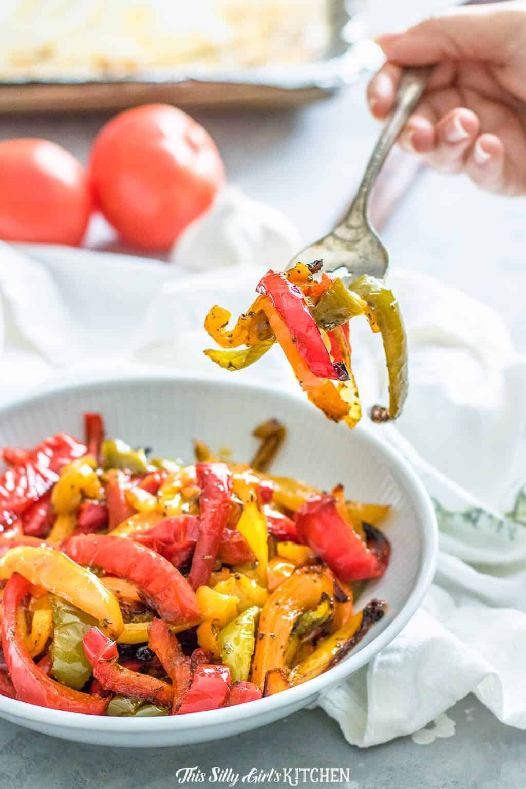 Roasted Peppers Easy Yummy Side Dish Or Topper