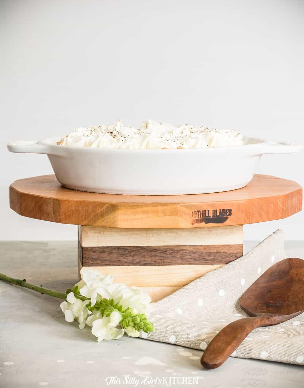 Tiramisu Pie (Recipe for Pie Crust, Filling, and Stabilized Whipped ...