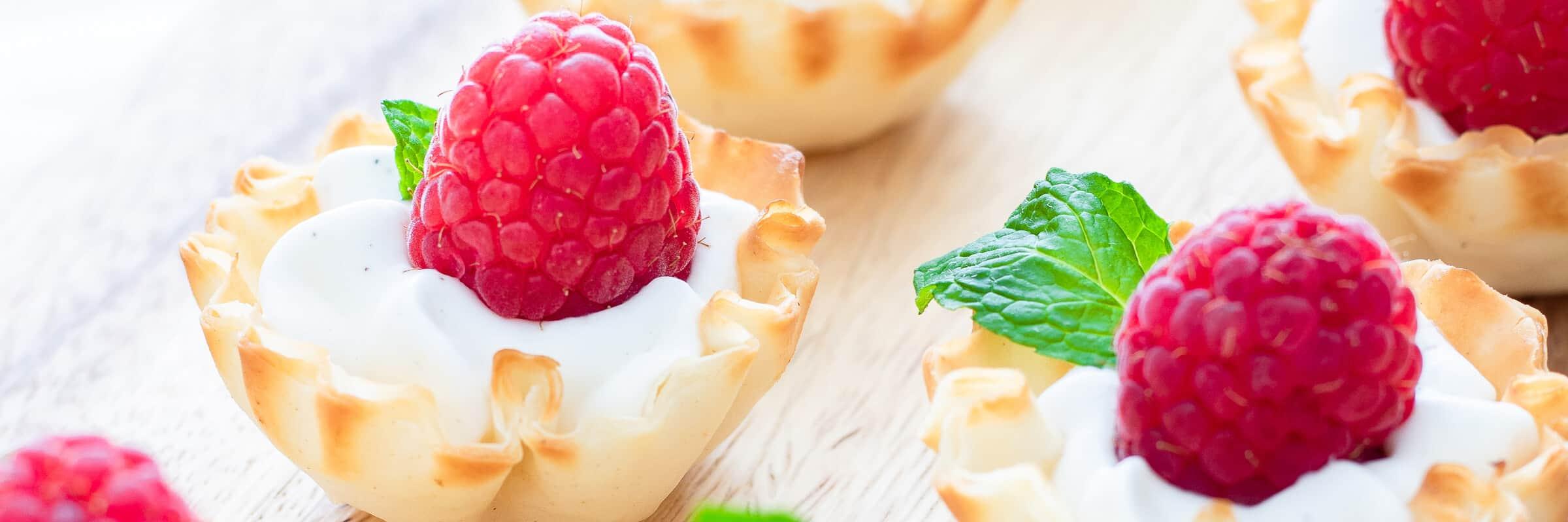 Raspberry Cups Recipe