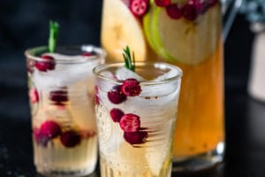 Winter White Wine Sangria