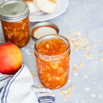 Almond Peach Jam
