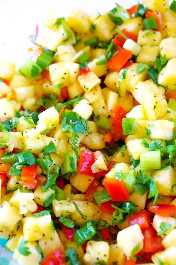 Pineapple Salsa from Food Folks and Fun