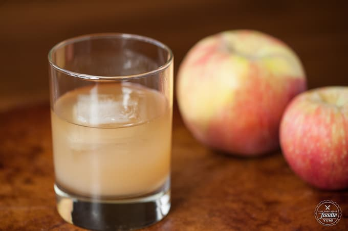 Apple Ginger Stone Wall Cocktail