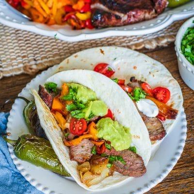Carne Asada Ribeye Tacos (Build Your Own Taco Bar)